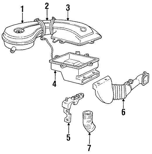 Cadillac Deville Housing. GAS ENGINE, 1988-93. TRANSAXLE