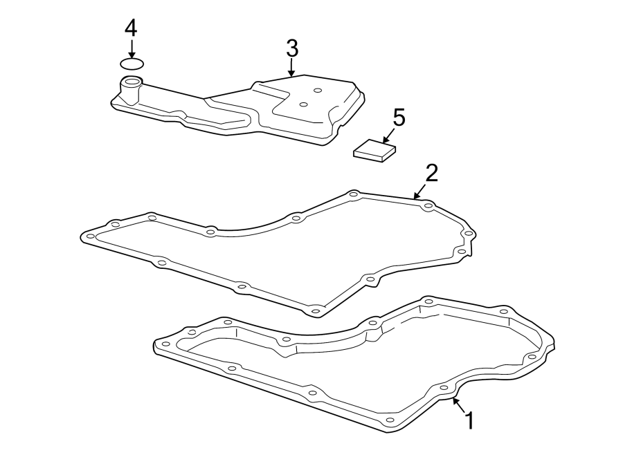 Oldsmobile Achieva Automatic Transmission Oil Pan Gasket