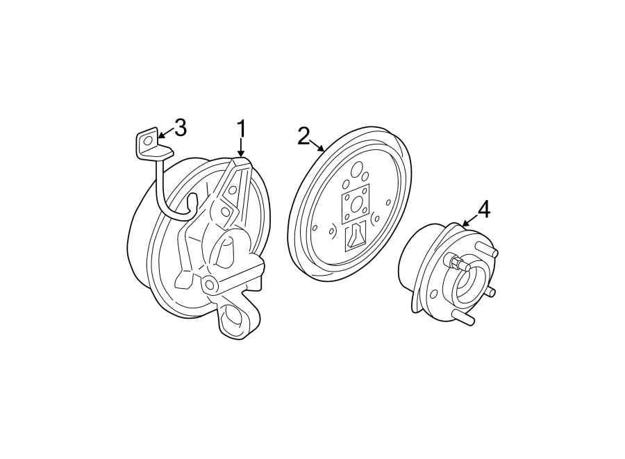 Chevrolet Classic Wheel Bearing and Hub Assembly