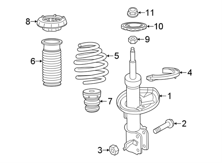 Chevrolet Spark Coil Spring. Manual trans, code: AA76