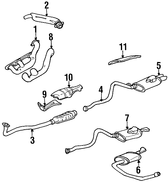[DIAGRAM] 2001 Buick Century Exhaust System Diagram FULL