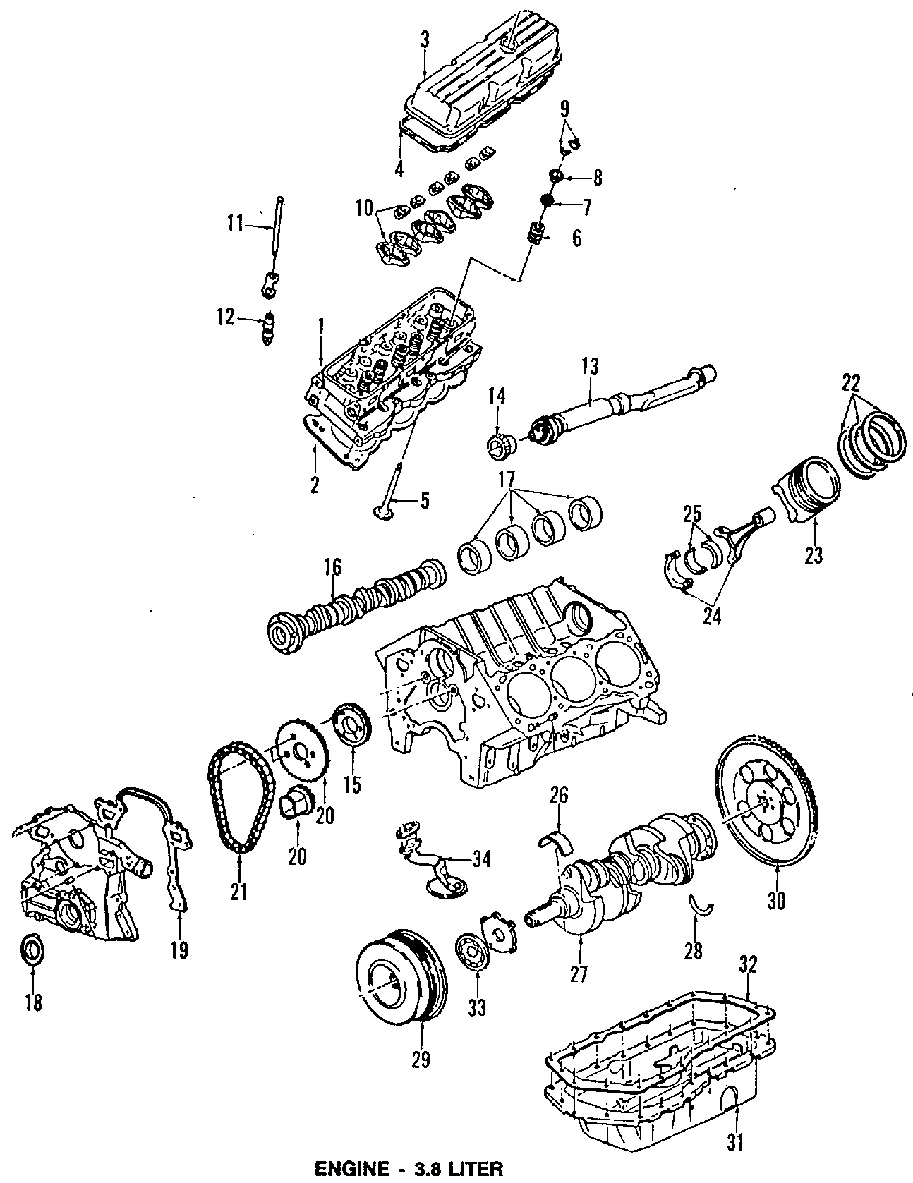 Pontiac Bonneville Crankshaft. Models, engine, output