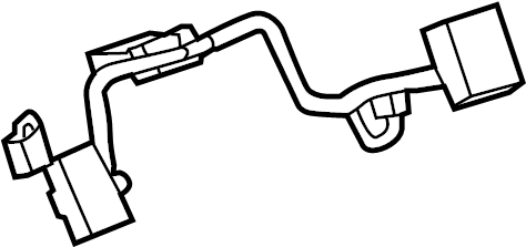 Buick Regal Air Bag Wiring Harness. 2014-2017, W/LEATHER