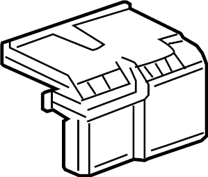 Buick LaCrosse Junction Block Cover (Upper). CONVENTIONAL
