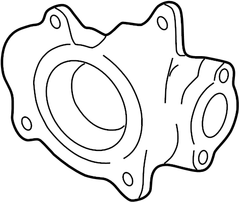 Cadillac DTS Accessory Drive Belt Cover. Engine Water Pump