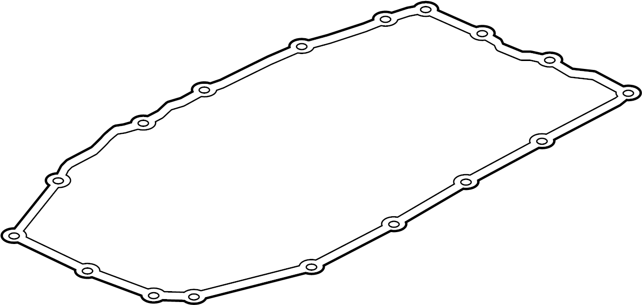 Cadillac CTS Automatic Transmission Oil Pan Gasket