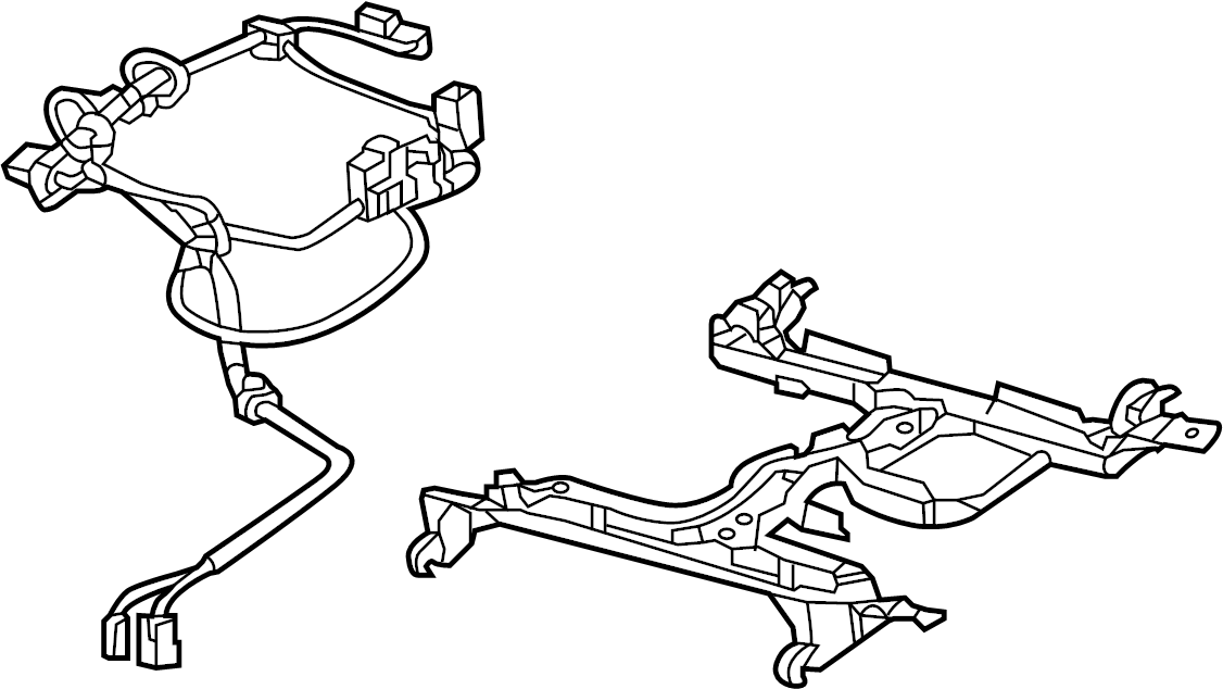 Chevrolet Caprice Power Seat Wiring Harness. 2011-2013