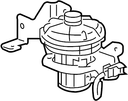 Chevrolet Impala Secondary Air Injection Pump (Right