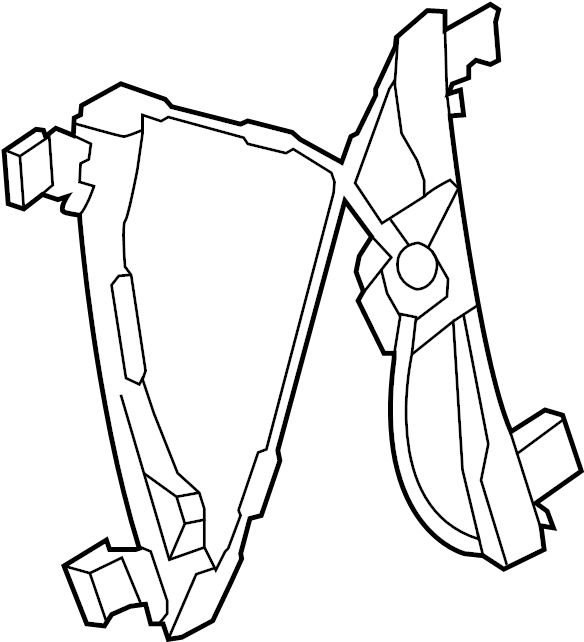 Chevrolet Cruze Window Regulator (Front). Down, Express