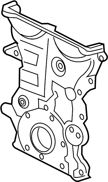 Chevrolet Malibu Engine Timing Cover. 1.4 LITER, type 3. 1