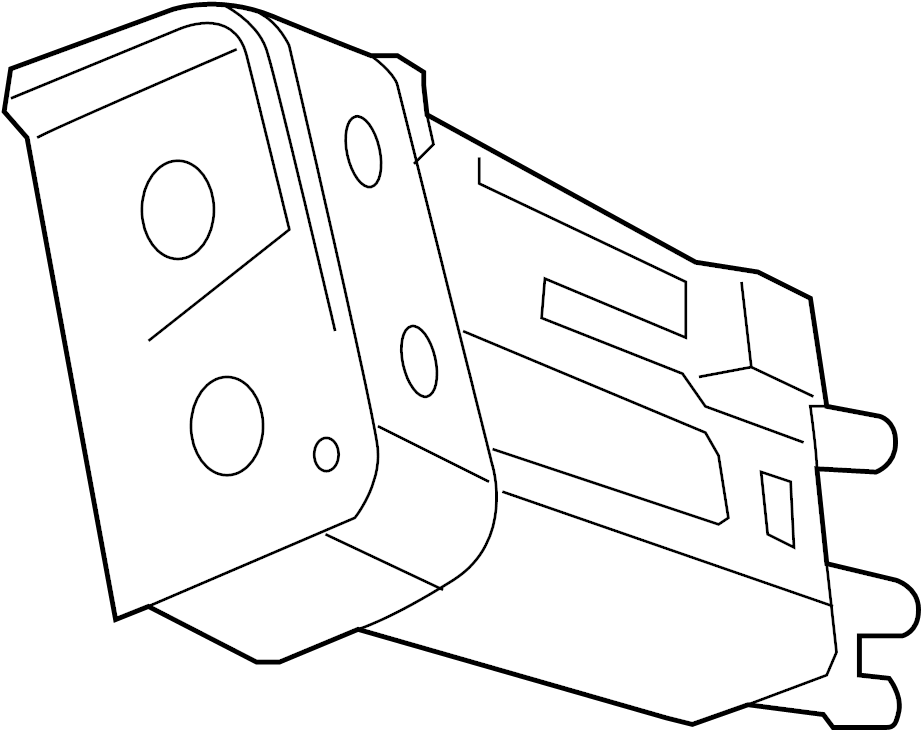 Saturn Ion Vapor Canister. Canister Assembly, Evaporator