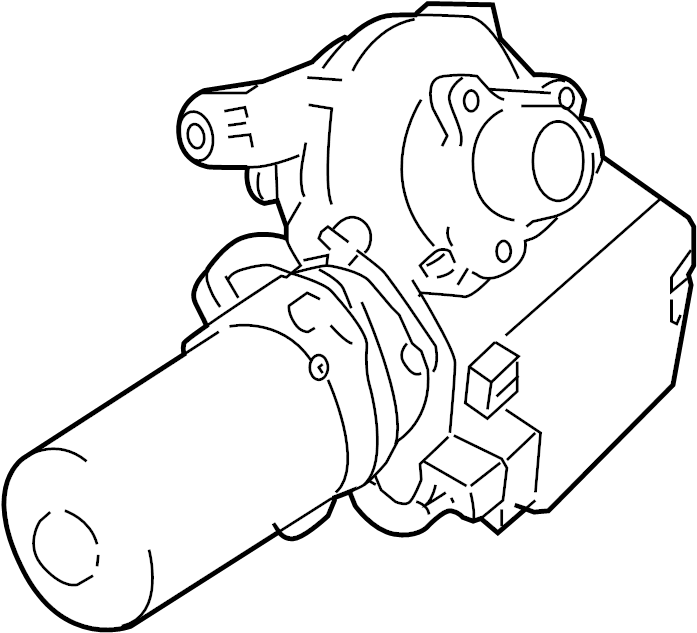 Pontiac G5 Steering Column. Trans, Active, Model
