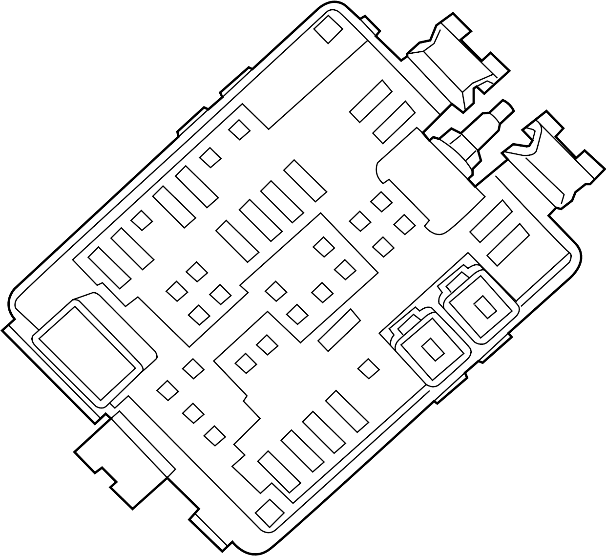 Chevrolet SS Fuse and Relay Center. BODY COMPARTMENT