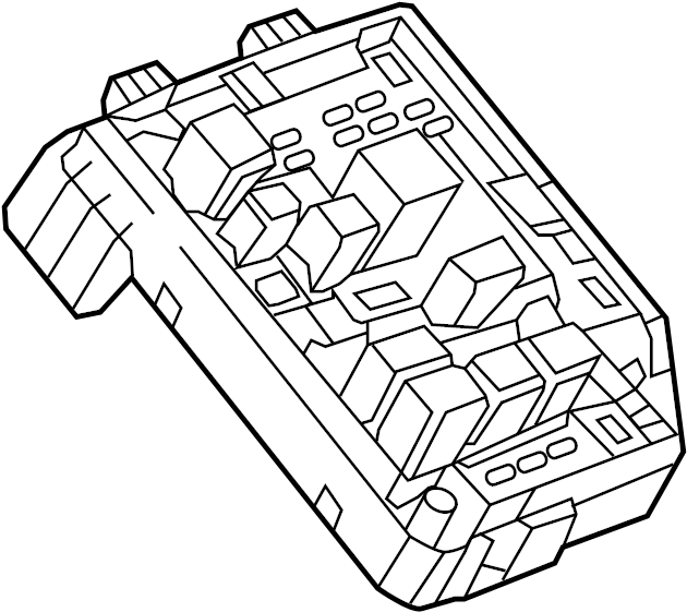 Chevrolet Spark Fuse and Relay Center. ENGINE COMPARTMENT