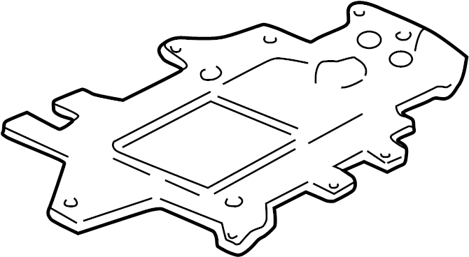 Buick Century Supercharger Gasket. 1997. 1998-05. 3.8