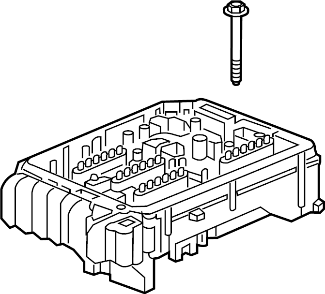 Chevrolet Equinox Fuse and Relay Center. ENGINE