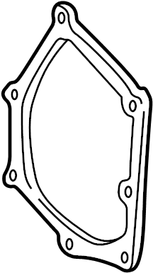 Chevrolet Malibu Engine Timing Cover Gasket (Front). 2.4