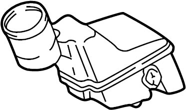 Pontiac Vibe Brake Master Cylinder Reservoir. Replace