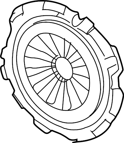 Chevrolet Cavalier Clutch Pressure Plate. PLATE ASSEMBLY