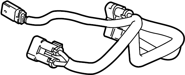 GMC Sierra 1500 Wire harness. Included with: Gear assembly