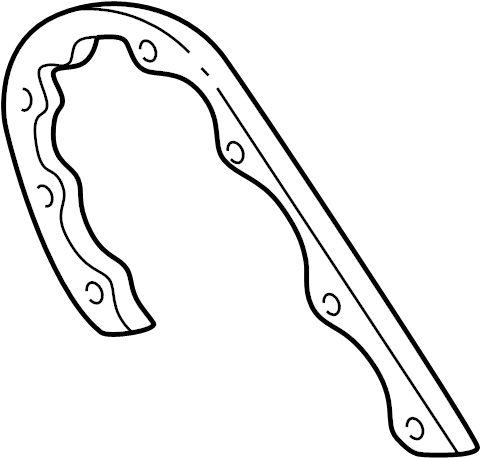 Chevrolet S10 Engine Timing Cover Gasket (Front). CYLINDER