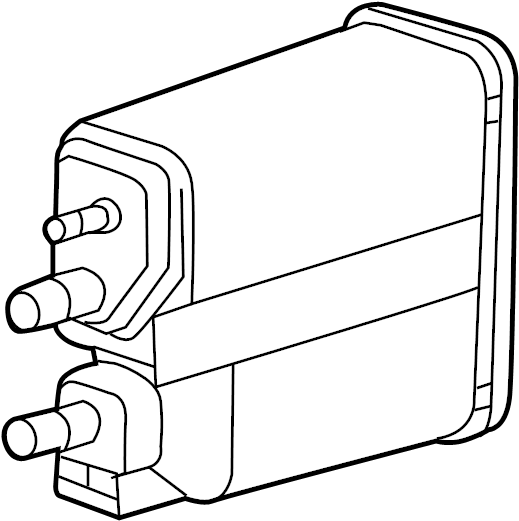 GMC Sierra 2500 HD Vapor Canister. CANISTER ASSEMBLY