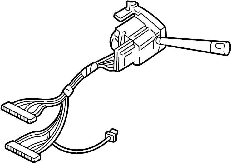 Oldsmobile Silhouette Switch. Signal. Combination. TURN