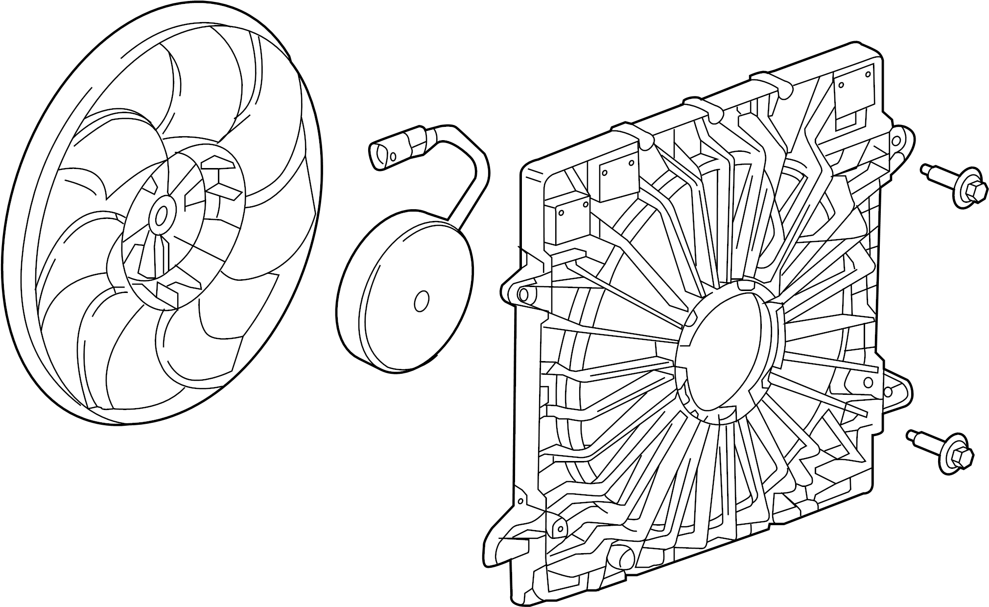 Chevrolet Blazer Fan Motor