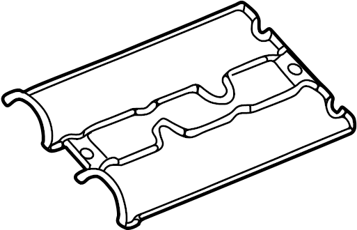 Cadillac CTS Engine Valve Cover Gasket. 3.0 LITER. 3.2