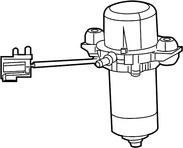 Cadillac Deville Secondary Air Injection Pump. EMISSION
