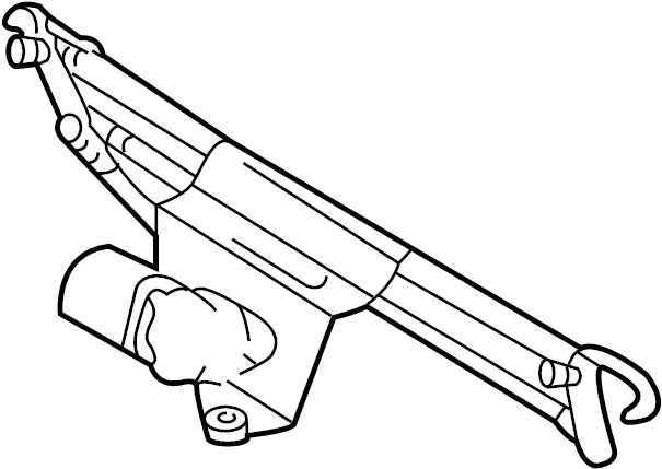 Cadillac Eldorado Windshield Wiper Linkage. Motor