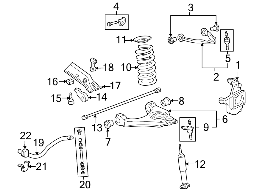 2003 Chevrolet Silverado 1500 Suspension Control Arm