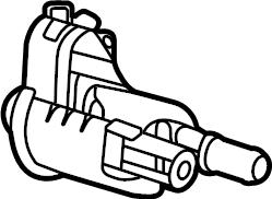 Chevrolet Suburban Purge. Solenoid. Valve. Vapor. Canister
