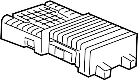 GMC Sierra 1500 Radio Amplifier. W/O UPLEVEL SLT PACKAGE
