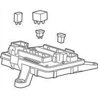 (84044726) Block Assembly-Body Wiring Harness Junction