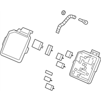 (20817315) Block Assembly-Accessory Wiring Junction
