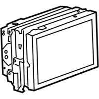 (22809317) Display Assembly-Radio & Video & Audio Disc