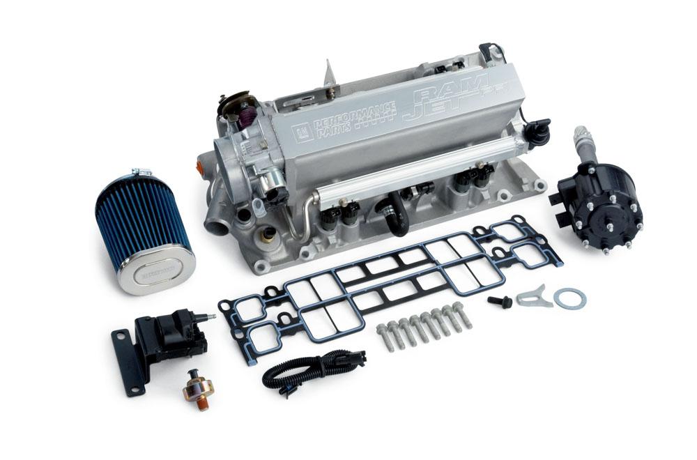 350 Chevy Ramjet Motor Wiring Diagram Ram Jet Fuel Injection Manifold Kit Less Electronics Gm