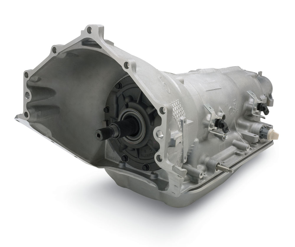 hight resolution of chevrolet performance supermatic 4l85 e four speed transmission reman
