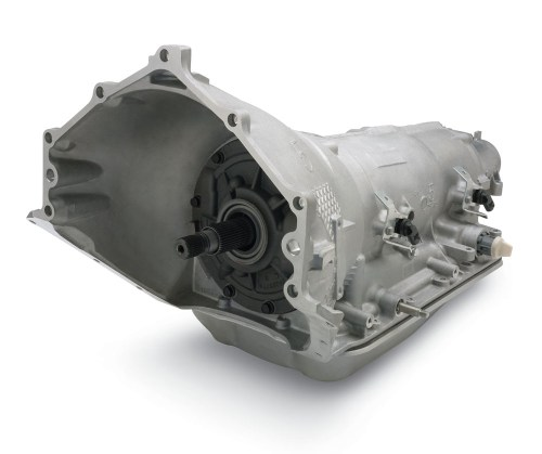 small resolution of chevrolet performance supermatic 4l85 e four speed transmission reman