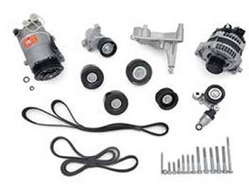 LT4 Dry Sump Accessory Drive System: GM Performance Motor