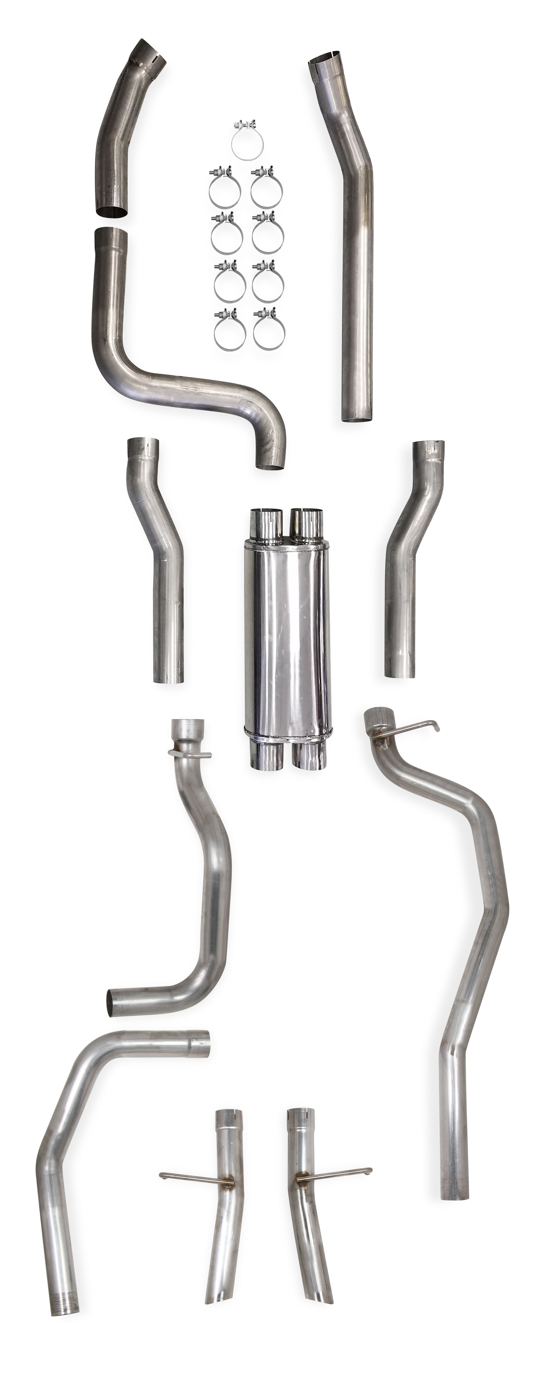 1994-04 GM S-10/Sonoma 2WD LS Swap Exhaust System, Dual 3