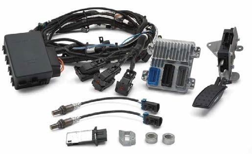 Msd 5 Wiring Diagram Chevy Ls376 480 Controller Kit Gm Performance Motor