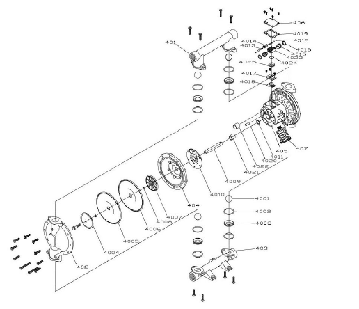 Aro Diaphragm Pump Parts Diagram. Diagram. Auto Wiring Diagram