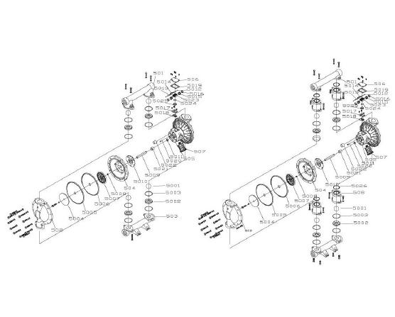 Wilden 2 Diaphragm Pump Parts Diagram. Electrical. Auto
