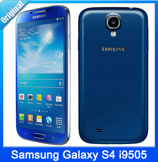 Samsung Galaxy S4 i9505 Original Unlocked 3G&4G GSM Android Mobile Phone  Quad-core 5 0″ 13MP WIFI GPS 16GB Dropshipping