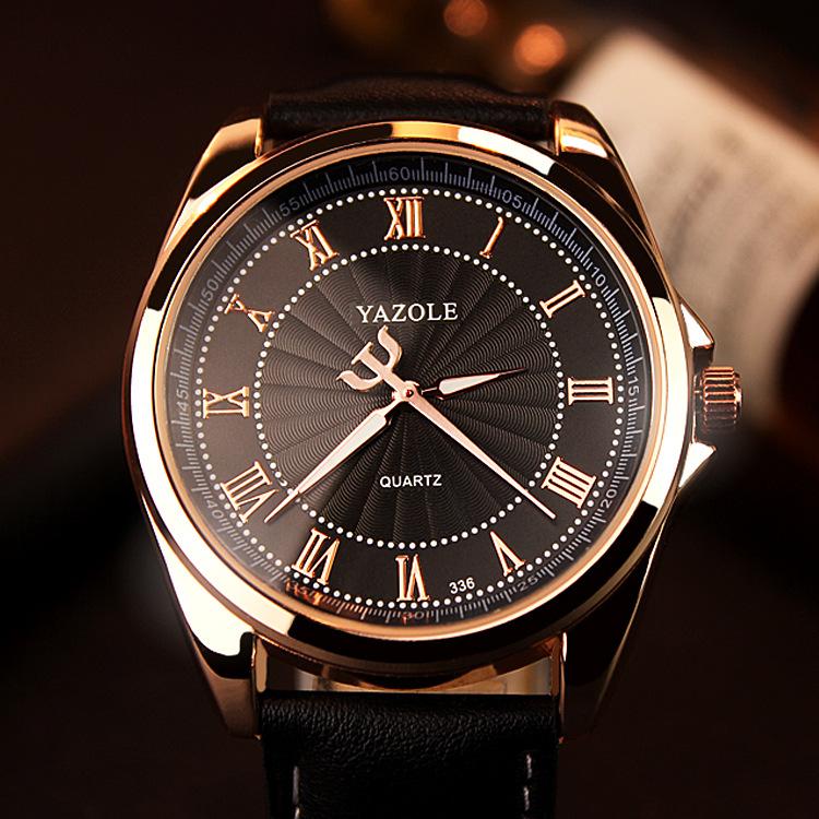 5839351d02e YAZOLE Quartz Watch Men Top Brand Luxury Best Famous 2016 Wristwatch Male  Clock Wrist Watch Mens Quartz-watch Relogio Masculino