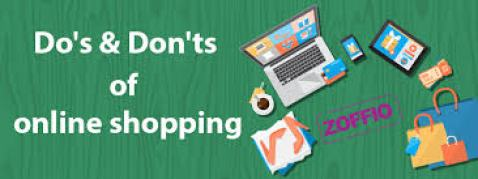 Online shopping do's, don'ts