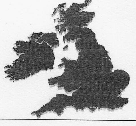 Auffällige Formen Europas Inseln Und Halbinseln