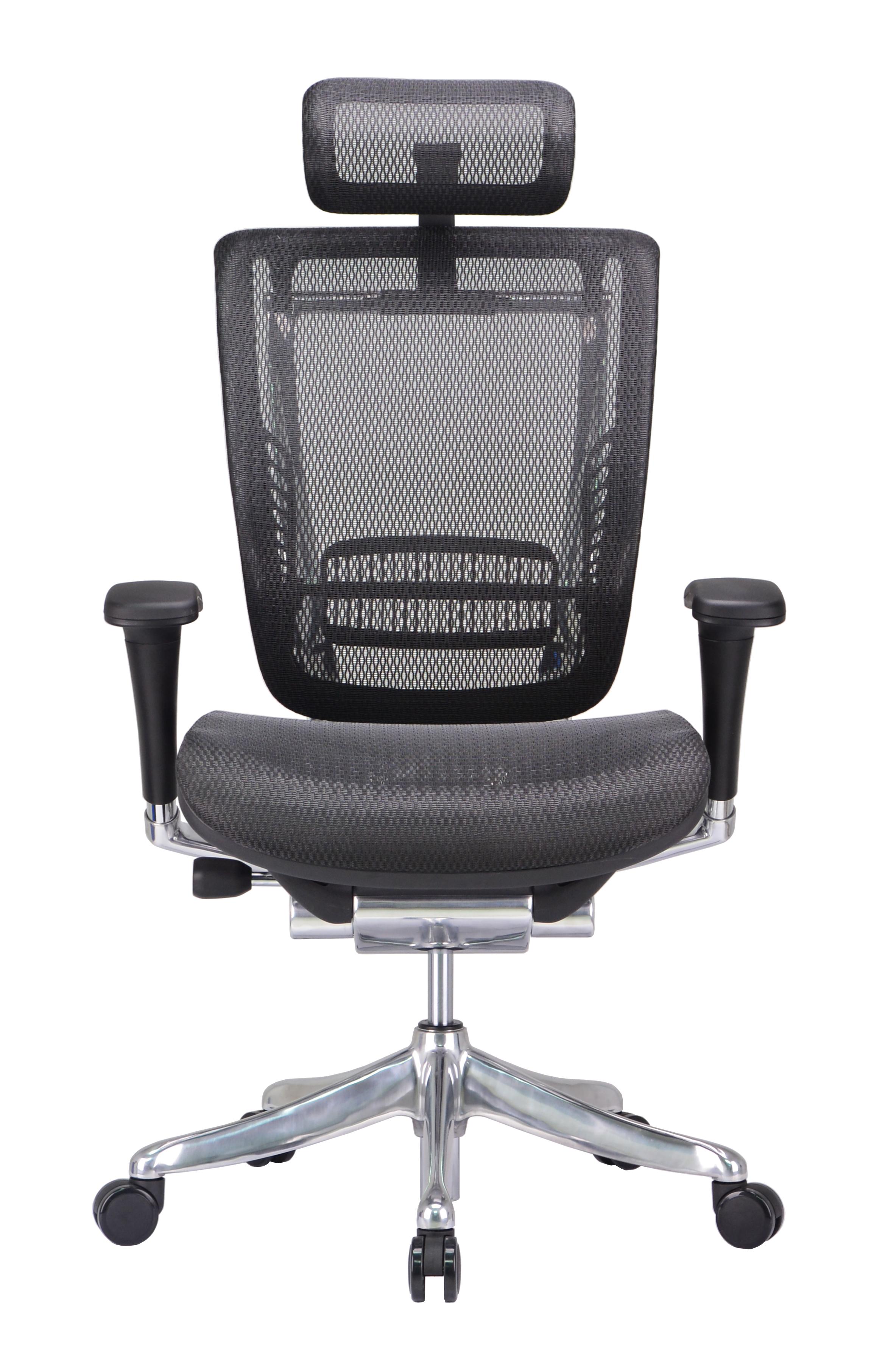xl desk chair royal blue sashes for sale gm seating enklave mesh executive hi swivel
